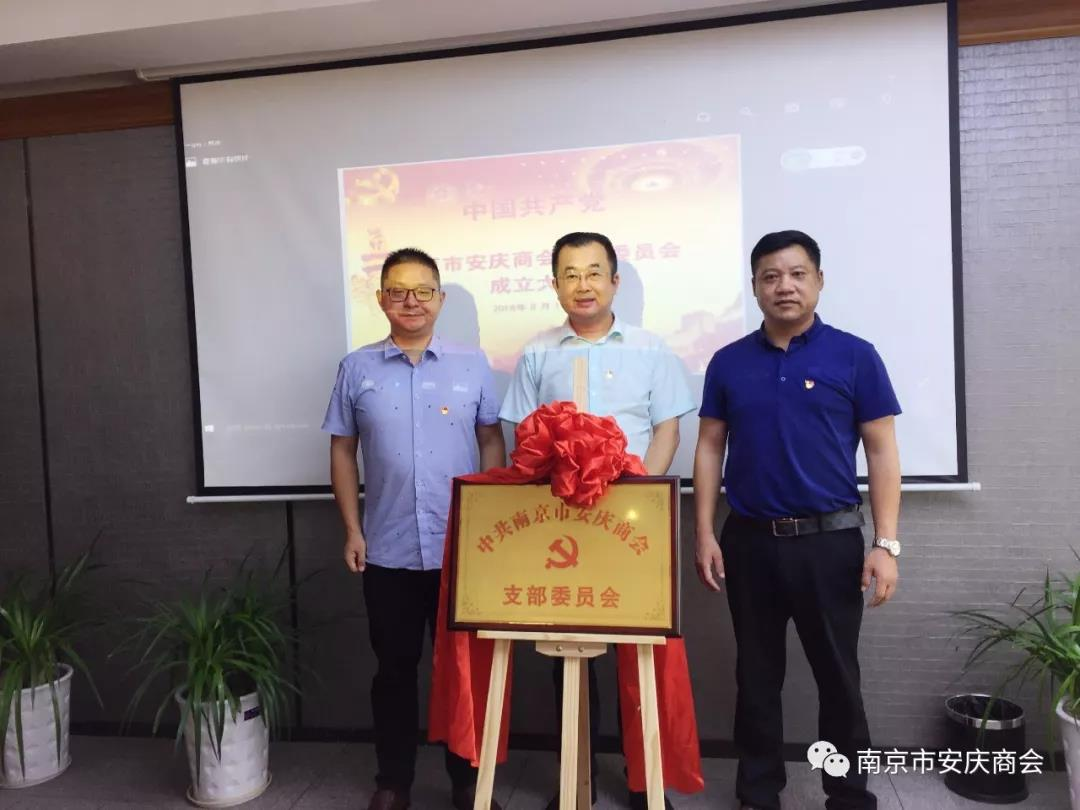 南京an庆商会礳hiР砍闪i庆八yi·党建jun民联yi会sheng利召开